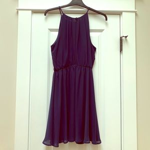 Lush Navy Summer Dress